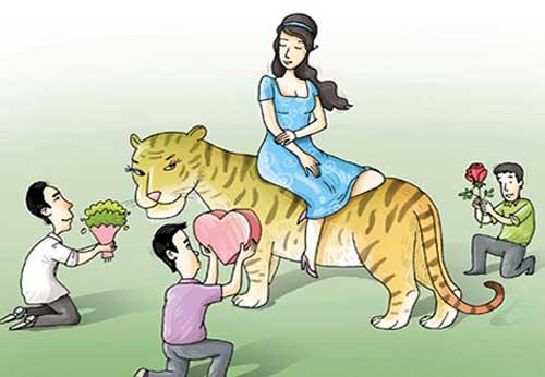 Đối tượng kết hôn của người tuổi Dần