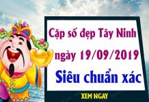 Phân tích lô đẹp tỉnh Tây Ninh ngày 19/09 chuẩn