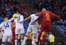 Roma vào top 4 BXH Serie A