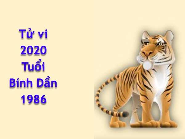 Tử vi tuổi Bính Dần năm 2020