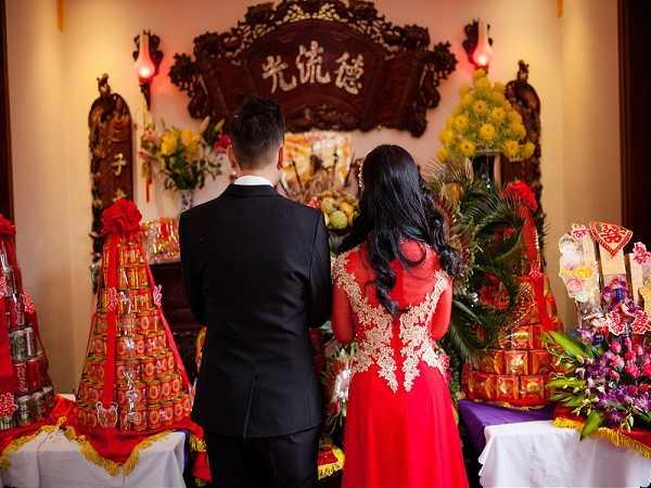 Văn khấn gia tiên trong lễ cưới hỏi