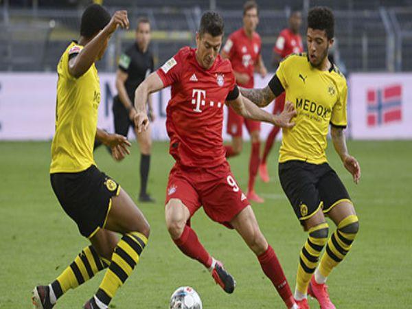Hạ Dormund ngay trên sân khách Bayern bỏ xa 7 điểm trên BXH