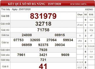 Bảng KQXSDN-Phân tích xổ số đà nẵng ngày 01/08 tỷ lệ trúng cao
