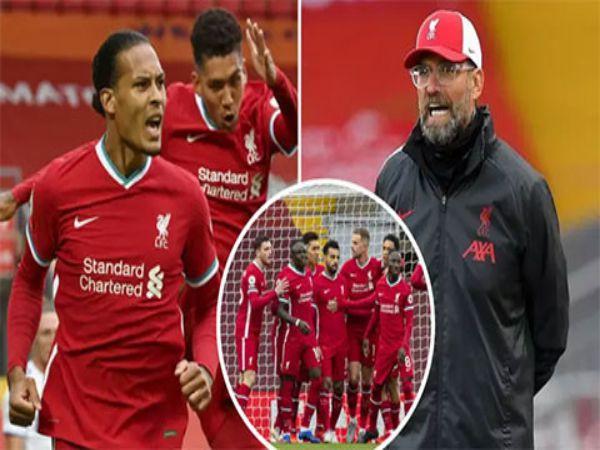 Tin bóng đá tối 16/9: Liverpool mùa này sẽ chỉ đứng hạng Tư