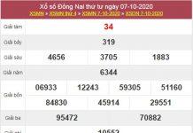Phân tích XSDNA 14/10/2020 chốt lô Đồng Nai chính xác nhất