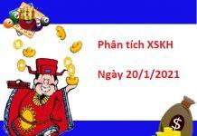 Phân tích XSKH 20/1/2021