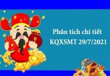 Phân tích chi tiết KQXSMT 29/7/2021