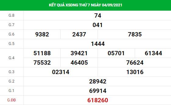 Phân tích XSDNG ngày 8/9 hôm nay thứ 4 chính xác